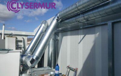 Climatización y calefacción en naves industriales