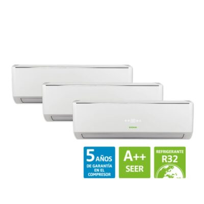 aire acondicionado multisplit - clysermur - instaladores certificados de aire
