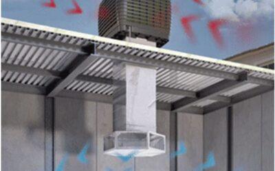 ¿Qué es la climatización evaporativa?